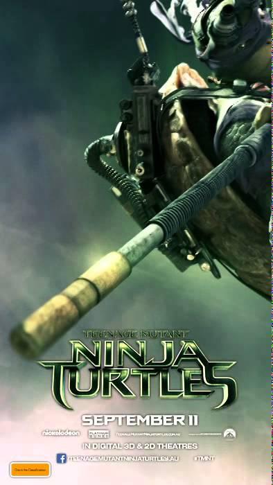 Teenage Mutant Ninja Turtles Donatello Motion Poster