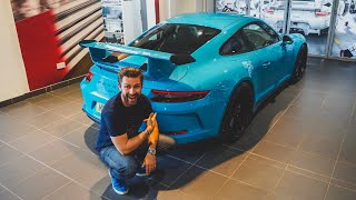 Taking Delivery Of My New Porsche 991 GT3!