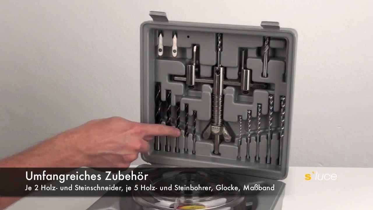 S Luce Rundlochschneider Kreisschneider Fur Holz Oder Fliesen Licht