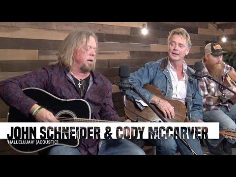 John Schneider & Cody McCarver | 'Hallelujah' (acoustic)