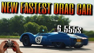 Forza Horizon 4 | NEW FASTEST DRAG CAR | 6.555 1/4-mile Shelby Monaco | Full Tutorial