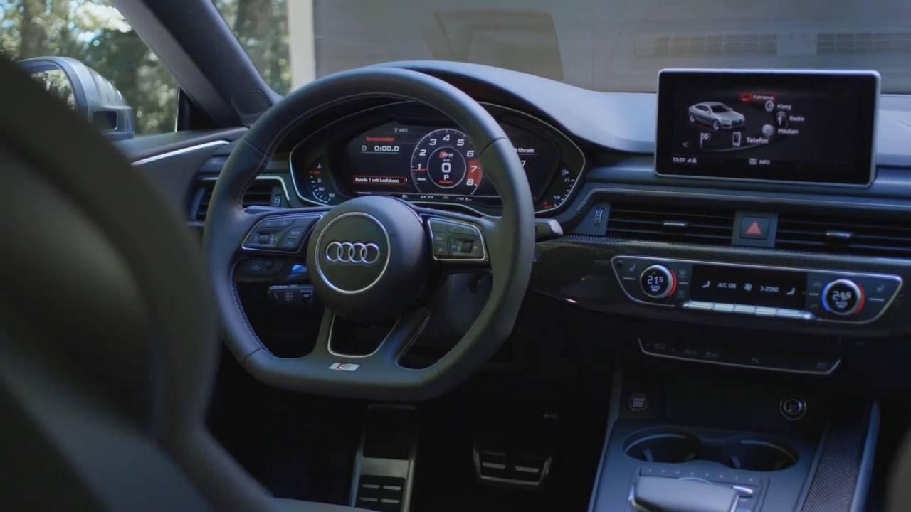 Audi S5 Sportback - Interior - YouTube