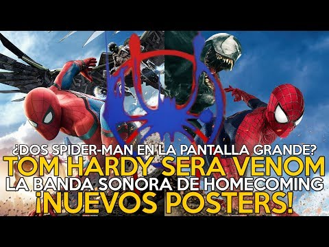 NOTICIAS: Imágenes y mercancía de Homecoming/ Tom Hardy será Venom/
