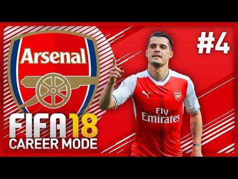 TRANSFER DEADLINE DAY! FIFA 18 ARSENAL CAREER MODE - EPISODE #4