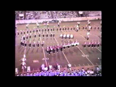 1988 Dothan High School Marching Band Halftime Show