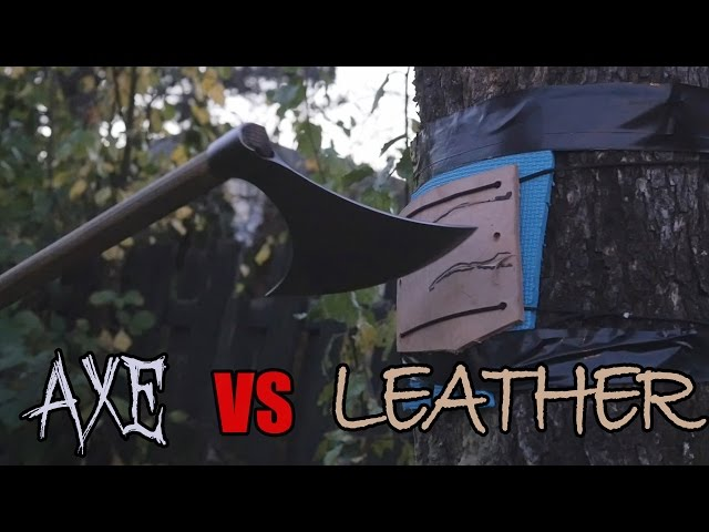 Axes vs thick, tough leather - armor busters?