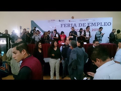 Ofertan 500 vacantes en la Feria de Empleo Tecámac 2019 más de 60 empresas: MGE