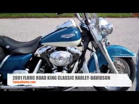 "2001 ""ROAD KING"" CLASSIC FLHRC HARLEY-DAVIDSON ""For Sale"" Tampa ""Spring Hill"" Plant City"