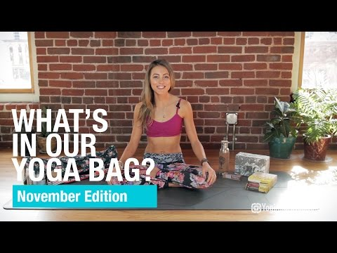 What's in Our Yoga Bag - November Edition