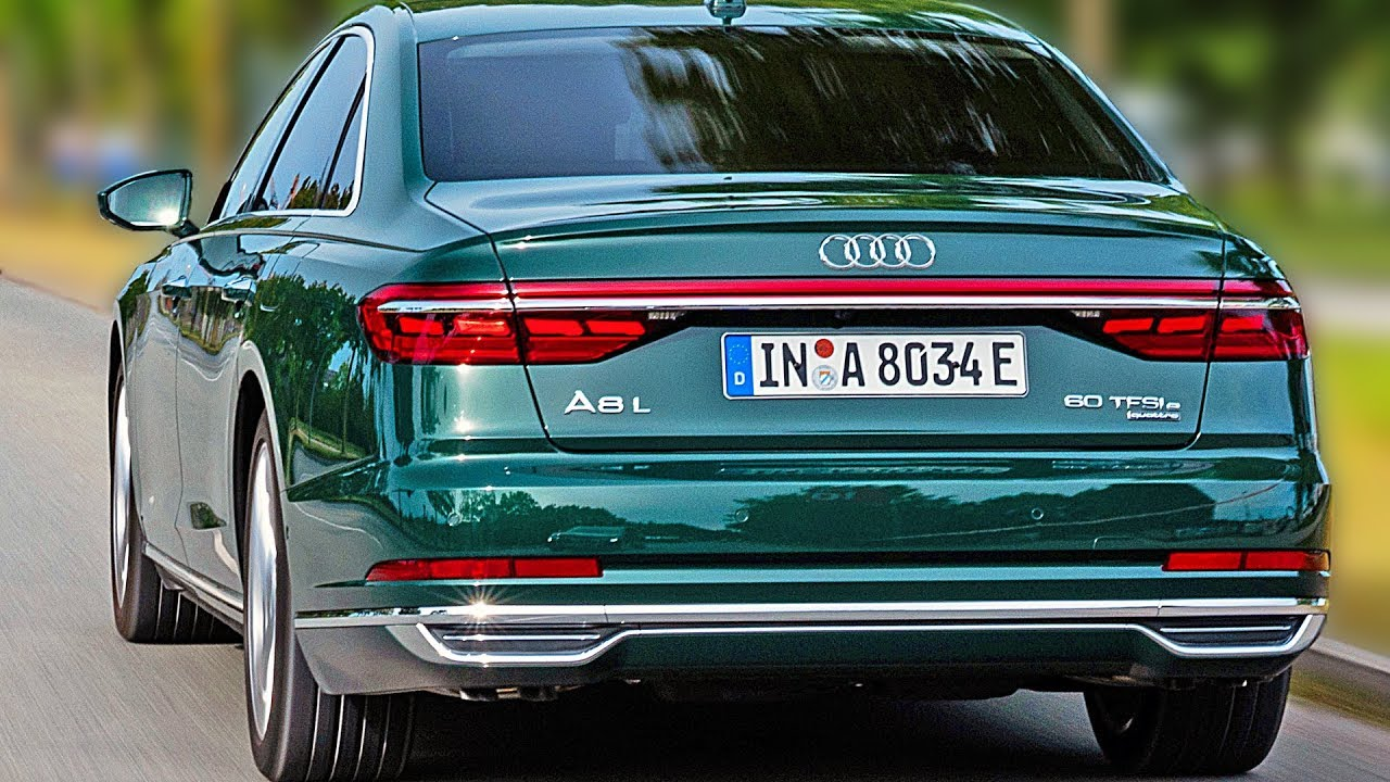 Audi A8 L 60 Tfsi E 2020 Luxury Hybrid Sedan Youtube