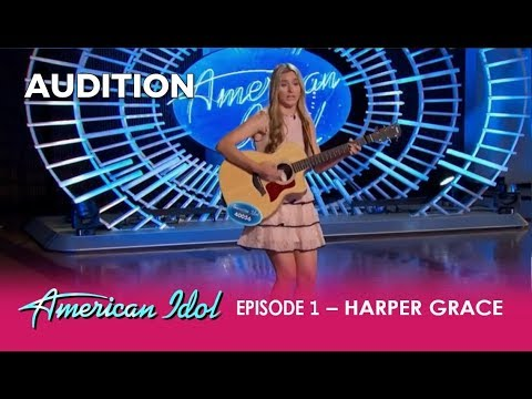 Harper Grace: The VIRAL Worst National Anthem Girl - Wants a Second Chance | American Idol 2018