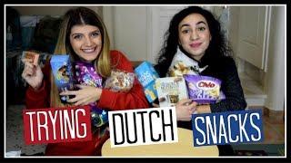 Δοκιμάζουμε ολλανδικά σνακ || fraoules22