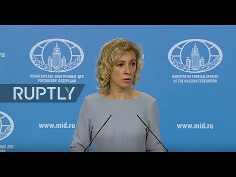 LIVE: Russian Foreign Ministry Weekly Briefing
