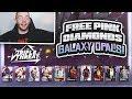 FREE GALAXY OPAL & PINK DIAMONDS IN TRIPLE THREAT!! WE GOT ONE! (NBA 2K19 MYTEAM)