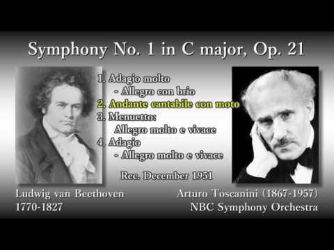Beethoven: Symphony No. 1, Toscanini & NBCso (1951) ベートーヴェン 交響曲第1番 トスカニーニ