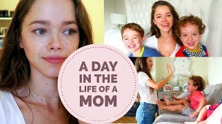 A day in the life of a mom | Vlog