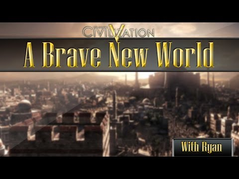 Civilization 5 (2014) Ep 2 - Struggling To Find New Territories