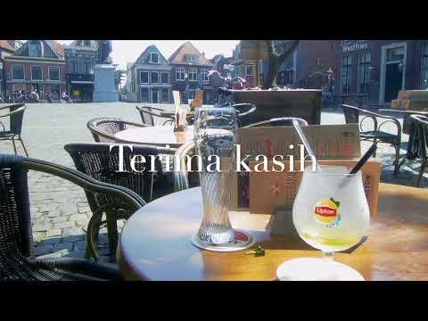 Menikmati kota Hoorn dg ibu2 Indonesia