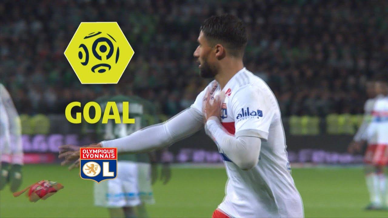 66a75ba0f0f Goal Nabil FEKIR (85 )   AS Saint-Etienne - Olympique Lyonnais (0-5)   2017- 18