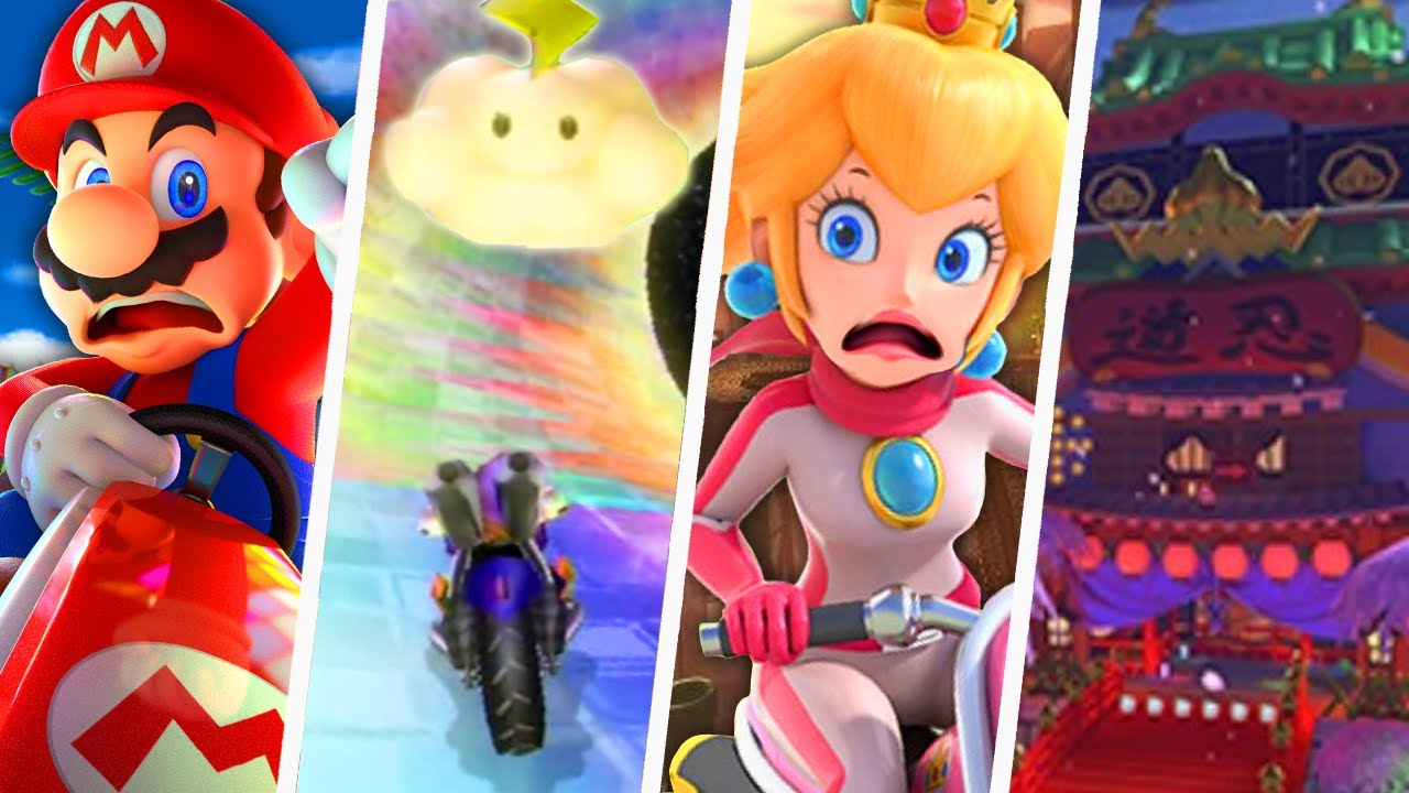 Evolution of Hardest Mario Kart Tracks (1992 - 2021)