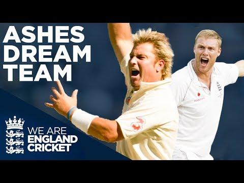 Freddie Flintoff Vs Shane Warne | Who Will YOU Pick? | Ashes Dream Team