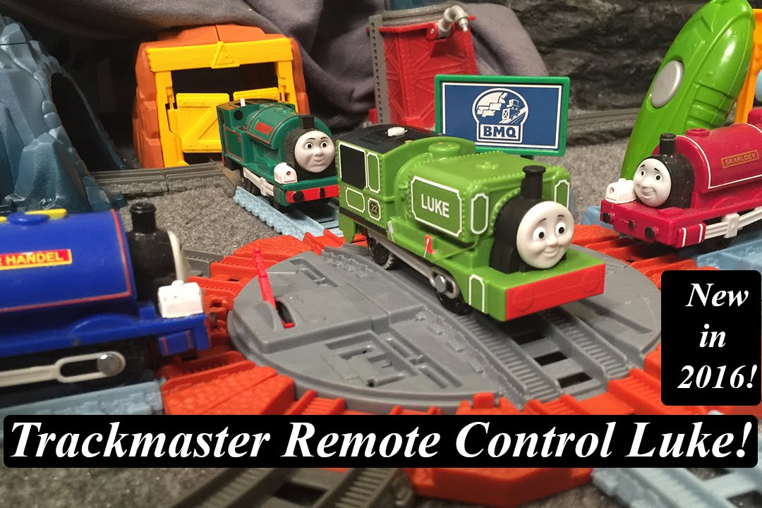 Thomas And Friends Toy Train Trackmaster Rc Luke Youtube