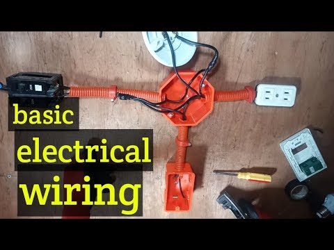 electrical switch board wiring diagram ! diy house wiring Wiring a New House
