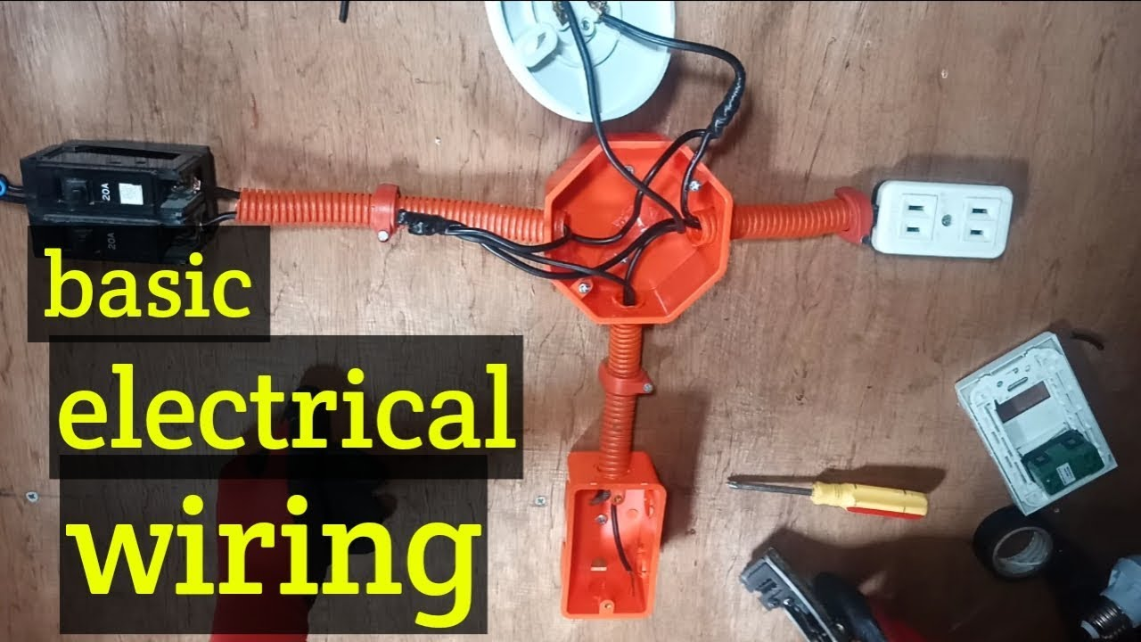 House Wiring Tutorial Tagalog Electrical Installation