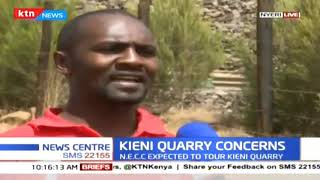 NECC in Nyeri to assess damages caused by Kieni quarry crushers