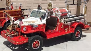 1954 Dodge Power Wagon -- AMERICAN FIRE APPARATUS --