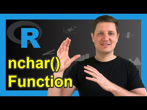 nchar R Function   3 Example Codes (String, Vector & Requires Character)
