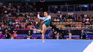 Victoria Moors - Floor Exercise - 2013 AT&T American Cup