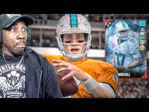 WIDE RECEIVER RYAN TANNEHILL OUT OF POSITION! Madden 17 Ultimate Team Gameplay Ep. 15