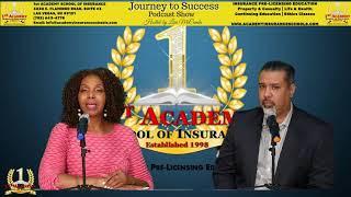 1st Academy School of Insurance Lisa McCombs interview Alberto Ochoa