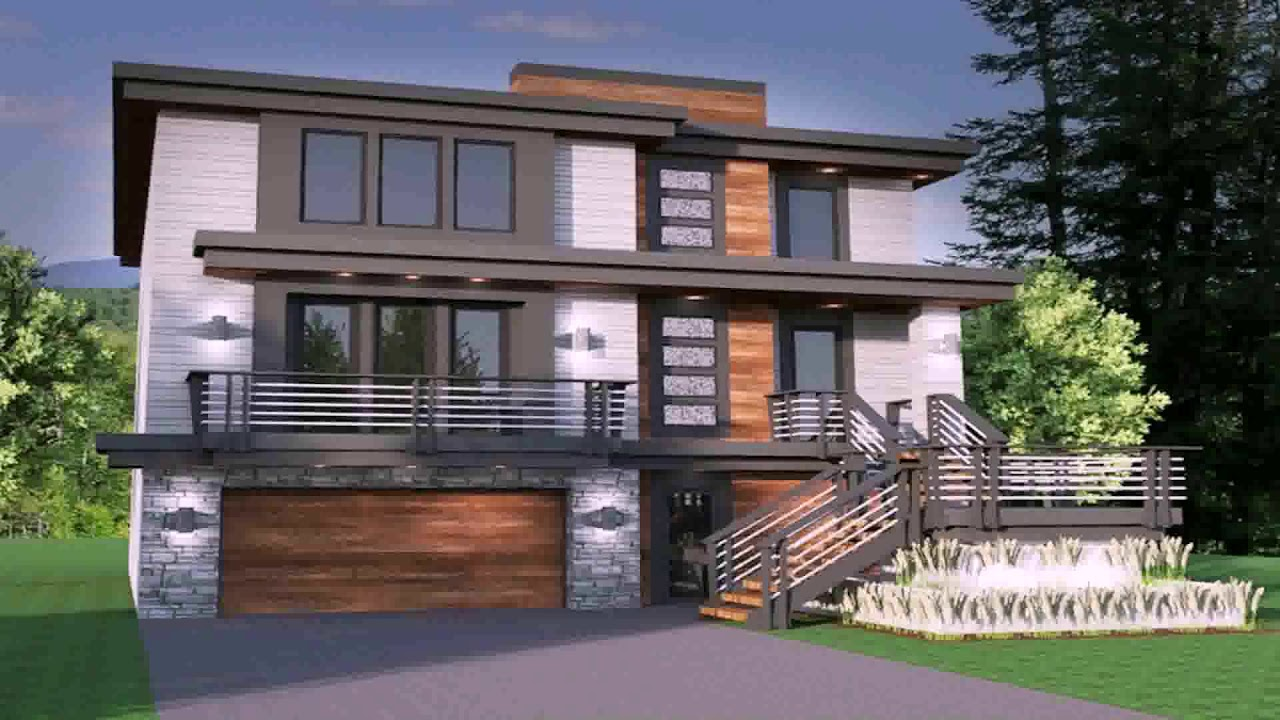 4 bedroom modern house plans pdf