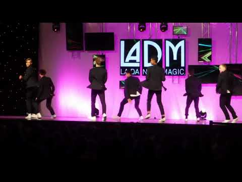 LADM MEN'S COMPANY, DALLAS, TEXAS, choreo by Jackie Sleight
