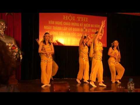 Tiếng trống Paranung - Tốp múa Nhà khách Dân Tộc