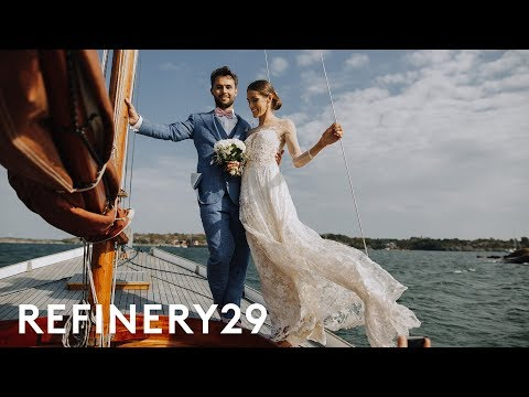I Got Married On My Fiancé's Family Island In Finland | World Wide Wed | Refinery29