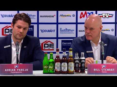 Pressekonferenz: Adler Mannheim - Düsseldorfer EG
