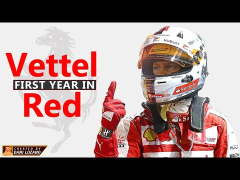 Vettel, First Year In Red