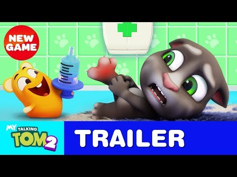 Can You Handle My Talking Tom 2? NEW GAME Official Trailer #2