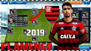 DREAM LEAGUE SOCCER 2019! TIME OFICIAL DO FLAMENGO 2019 COM JOGADORES ATUAIS [DOWNLOAD]