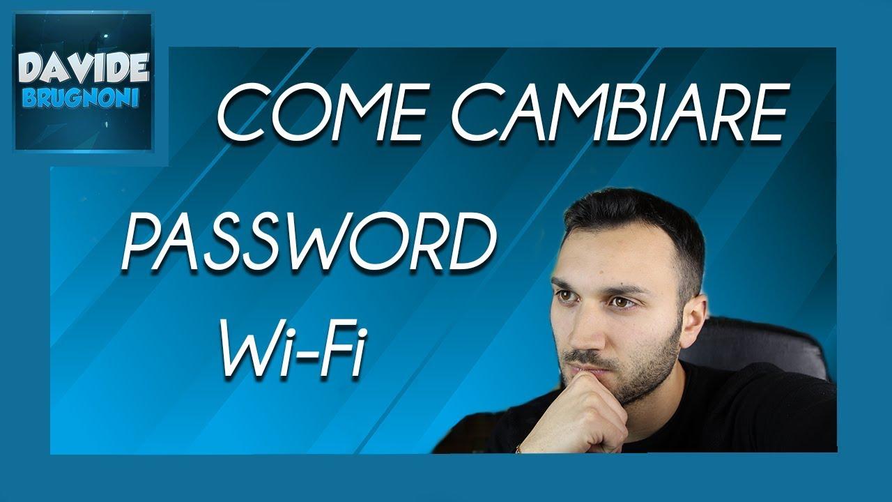 Come cambiare password WiFi | Salvatore Aranzulla