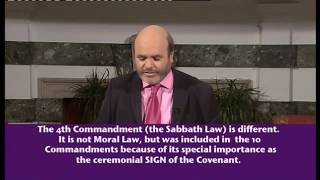 The Sabbath Issue (4) - The Sabbath Law is a Ceremonial Law