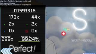 Galileo Galilei - Natsuzora /DT+HD osu! [Hard] FC