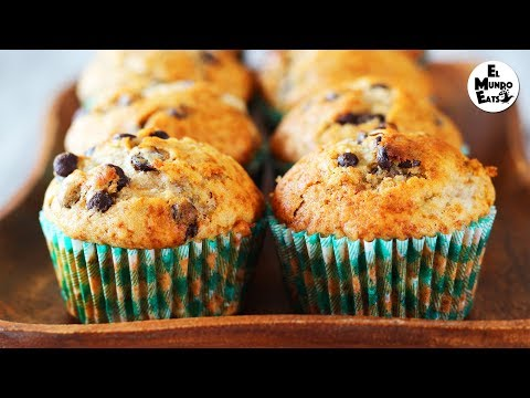 How To Make Banana And Chocolate Chip Muffins