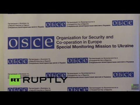 LIVE: OSCE's Hug holds press conference in Donetsk