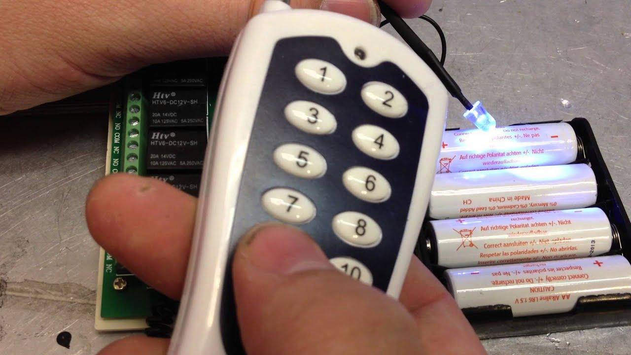 on digital power watch light switch wireless off rf home remote port youtube