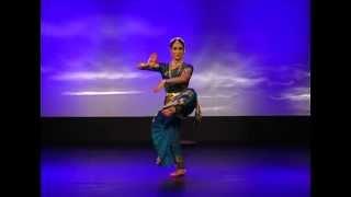 Amrita Lahiri Kuchipudi tarangam excerpt plate dance