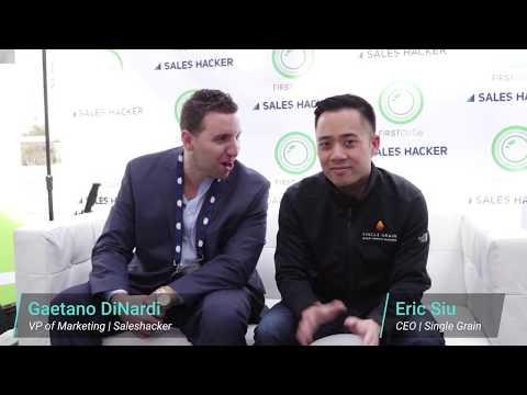 Revenue Summit Interview Series: Eric Siu, Single Grain